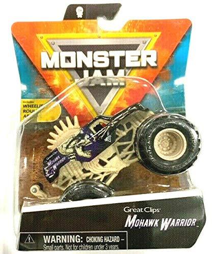 MonsterJam Mohawk Warrior (1:64 Scale) with Wheelie Bar - 2021 Series 16