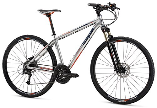 Mongoose Reform Expert 700C Wheel Hybrid Bicycle,...