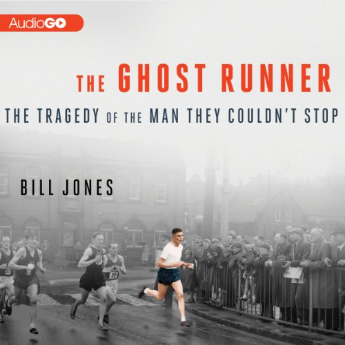 The Ghost Runner audiobook cover art