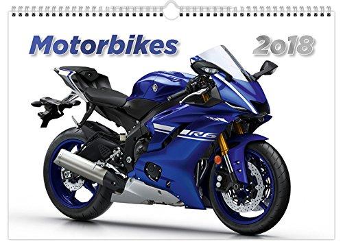 C145-17-18 Kalpa Wand Kalender 2018 Motorräder 45 x 31.5 cm + Kaufen 1 Holen Sie sich 1 gratis Kalender