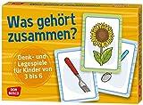 Was gehört zusammen?: Denk- und Legespiele für Kinder von 3 bis 6. - Angela Gully