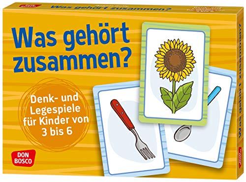 Was gehört zusammen?: Denk- und Legespiele für Kinder von 3 bis 6.