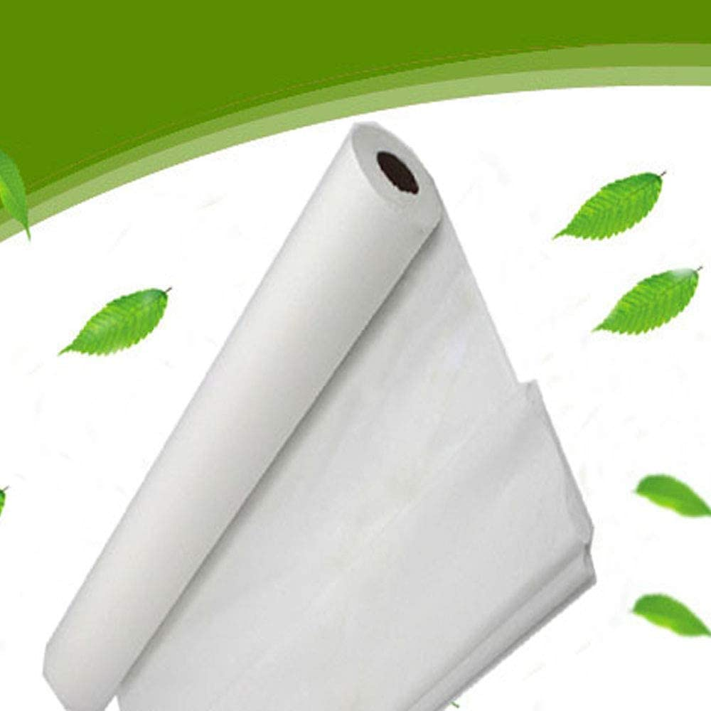 """1 Roll White Disposable Non-Woven Exam Bed Cover, 50 Sheets (31"""" Wide X 354 Feet Long) Feet Massage Bed Sheets Disposable Bed Sheets Table : Home & Kitchen"""