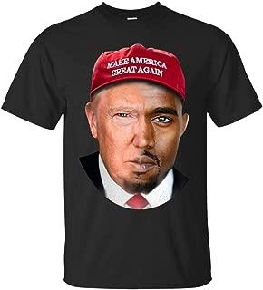 Donald Trump Kanye West Make America Great T-Shirt, Trump Kanye Face Swap Shirt