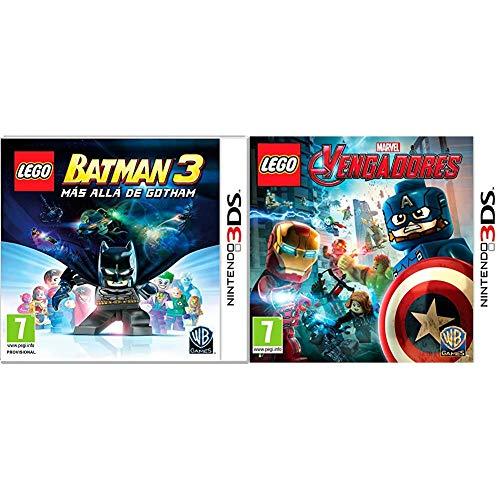 LEGO: Batman 3. Más Allá De Gotham + Vengadores - Edición Estándar - Nintendo 3DS