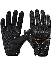 Motorhandschoenen Touch Screen Handschoenen, Motorhandschoenen Motor ATV Rijden Volledige Vinger Handschoenen voor Road Racing Fietsen Klimmen (M )