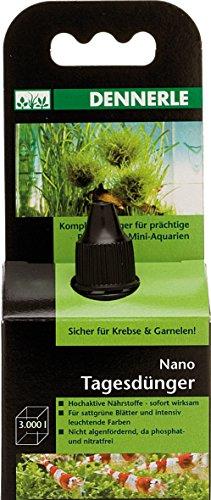 Dennerle Nano Tagesdünger 15 ml | für sattgrüne Blätter, gesunde Pflanzen und intensiv leuchtende Farben