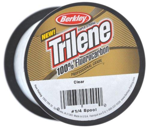 Berkley Trilene - Hilo de Pescar (fluorocarbono, 5,4 kg, 0,33 mm, 1005 m), Transparente