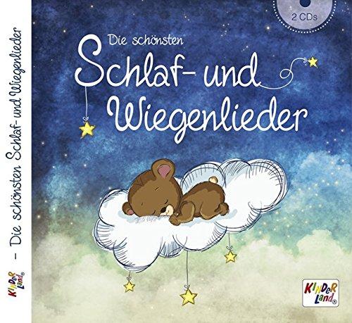 Die schönsten Schlaf- und Wiegenlieder 2CDs