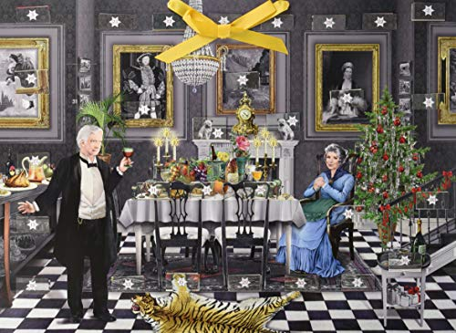Zettelkalender - Christmas Dinner for One: 31 genussvolle Rezepte zum Schlemmen, Schlürfen und Genießen bis Silvester