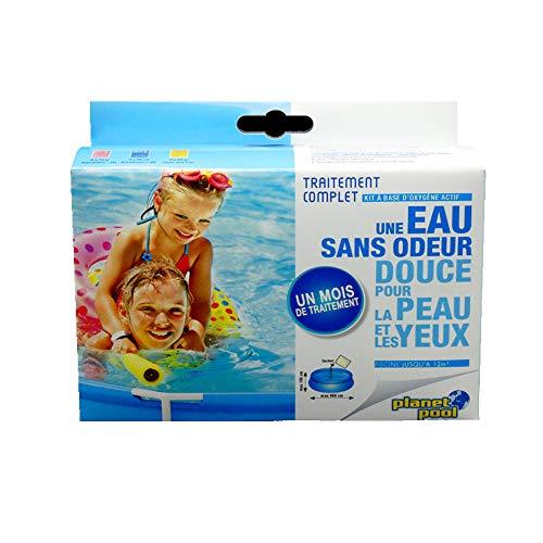 EDENEA - Traitement Complet pour Piscine Enfant à Base d''Oxygène Actif (Bassin < 12 m3) - Sachets Pré Dosés Dissolution Immediate - jusqu'à 12000 litres …