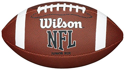 Wilson NFL American Football Sport Match Play TRAINING & Praxis Ball, Junior