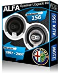 FLI Audio Altavoces para Puerta Delantera de Alfa Romeo 156Coche Kit de Altavoces, 210W