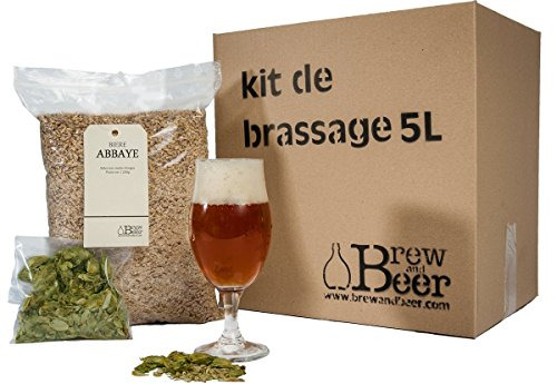 Brewandbeer Juego para fabricar cerveza de abadía (5 L)