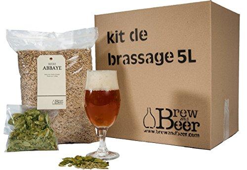 Kit De Brassage Bière Abbaye 5L Fabriqué en France