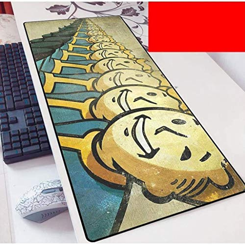 Fallout Gaming Mouse Pad Large Mouse Mat Keyboard Mat Extended Mousepad for Computer Desktop PC Laptop Mouse Pad (Color : 2, Size : 700x300x3mm)