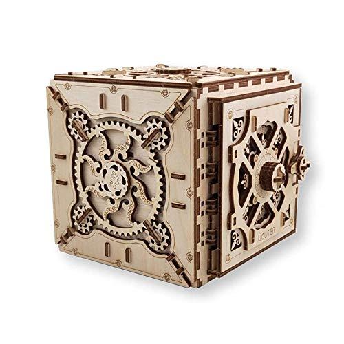 WRT LKNJLL Puzzle Box 3D Rompecabezas de Madera Kits Modelo for Adultos