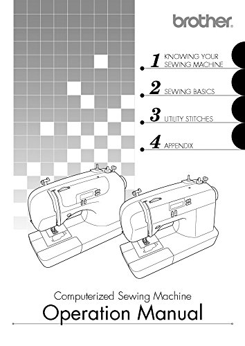 Brother CS6000i Sewing Machine Owners Instruction Manual [Plastic Comb] There and Back