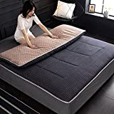 Tradicional Dormir Tatami Estera De Meditación,Respirable Futón Tatami Colchón Pad Suave Comodidad Japonés Sleeping Pad...