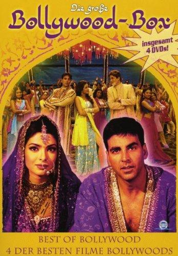 Die große Bollywood-Box [4 DVDs]
