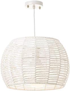 Lámpara Colgante de Metal Blanca Minimalista para Cocina Vitta - LOLAhome