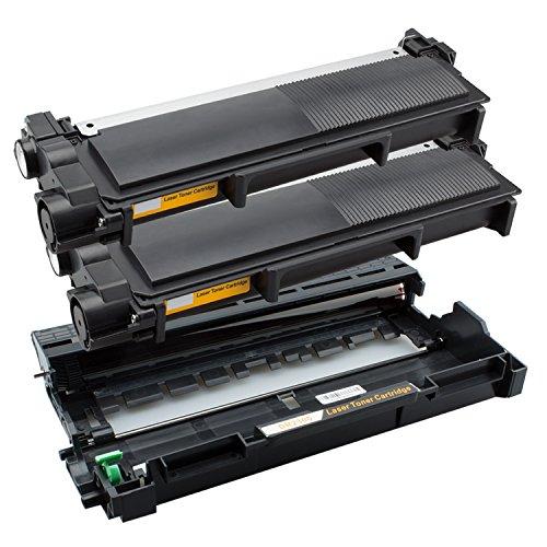 Tito-Express PlatinumSerie 1 Trommel & 2 Toner XXL kompatibel mit Brother DR-2300 & TN-2320   Geeignet für DCP-L2500D L2520DW L2540DN L2560CDN L2560CDW L2560DN L2560DW L2700DW