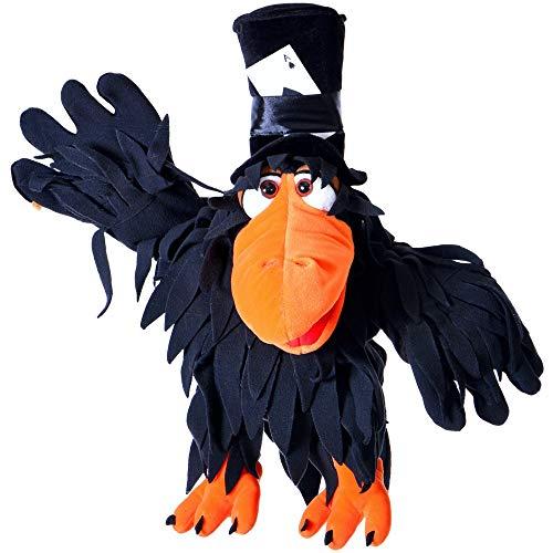 Living Puppets Handspieltier Rupert der Rabe schwarz 56 cm [Spielzeug]