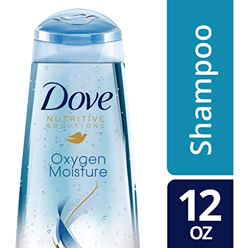 Dove Nutritive Solutions Shampoo, Oxygen Moisture, 12 Ounce (Pack of 6)