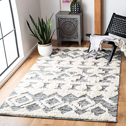 Safavieh Safavieh Kenya Collection Kny458a Hand Woven Wool Area Rug 8 X 10 Ivory Brown From Amazon Daily Mail