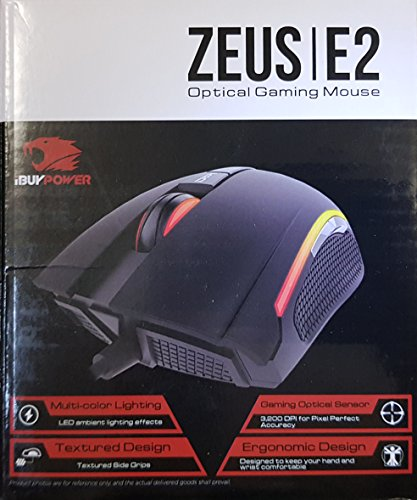 iBuyPower Zeus E2 3200 DPI Optical Gaming Mouse
