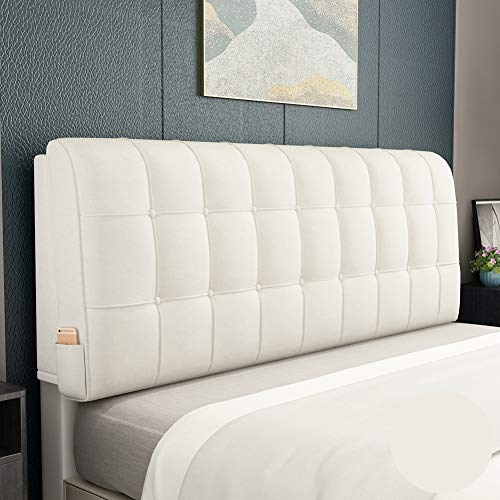 Read About YZJJ Sofa Bed Large Soft Upholstered Headboard Filled Wedge Cushion Daybed Backrest Posit...