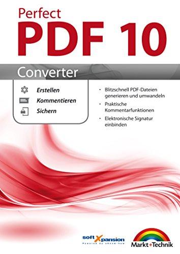 Perfect PDF 10 CONVERTER PDF Dateien Erstellen, Umwandeln, Kommentieren Windows 10, 8.1, 8, 7