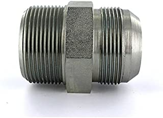 Parker 5 F5OX-S JIC to SAE Adapter 5//16 JIC X Size 5 SAE Steel