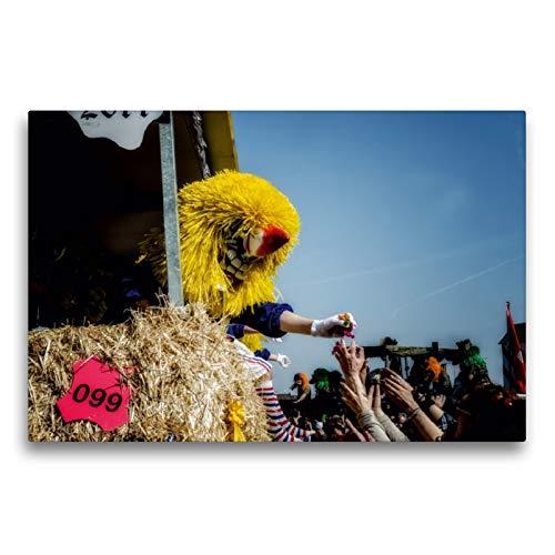 CALVENDO Premium Textil-Leinwand 75 x 50 cm Quer-Format Die Versorgung von Bonbons, Leinwanddruck von Alain Gaymard