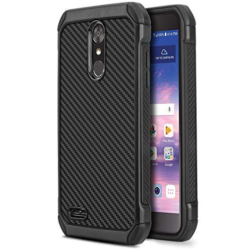 CasemartUSA Phone Case for [LG Rebel 4 LTE (L212VL, L211BL)], [Combat Series] Shockproof Cover [Impact Resistant][Defender] for Rebel 4 LTE (Tracfone, Simple Mobile, Straight Talk, Total Wireless)