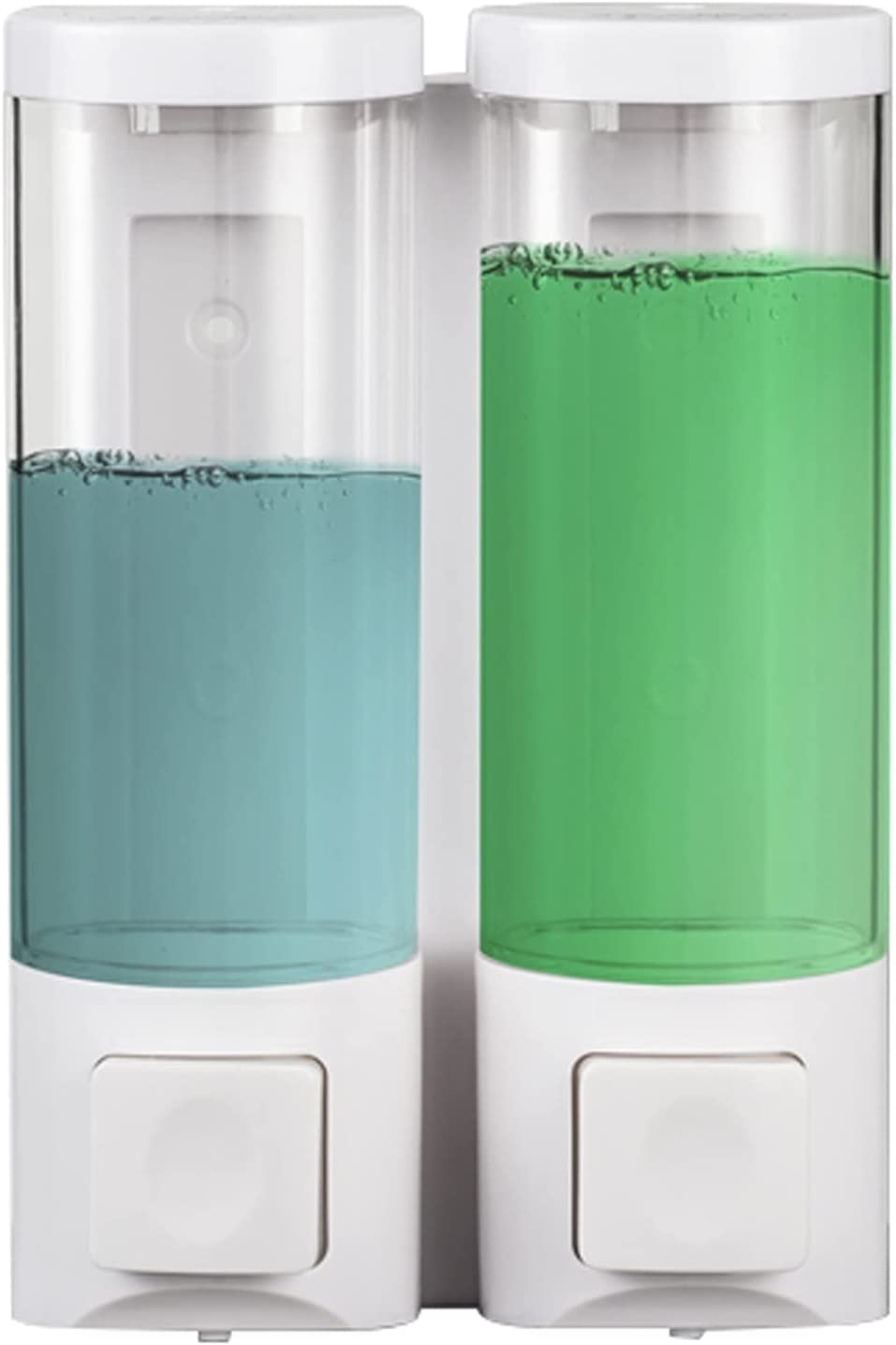 Liushop Soap Dispensers excellence free shipping White Manual Dispenser Transparent