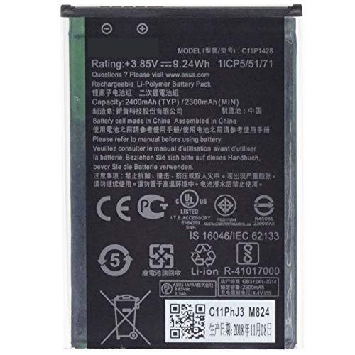 Batteria Li-Po originale ASUS C11P1428 2400mAh Zenfone 2 Laser ZE500KL ZE500KG bulk