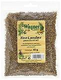 Wagner Gewürze Koriander (Coriander) geschrotet (1 x 40 g)