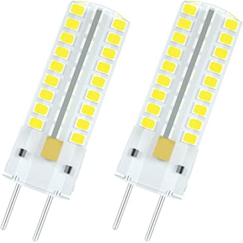 Glming 3 5w Gy6 35 72 5730 Smd Led Bulb G6 35 Bi Pin Base Ac12v Dc12v 24v Silicone Crystal Corn Bulb Super Bright 450lumens Cool White Pack Of 2 Amazon Co Uk Lighting