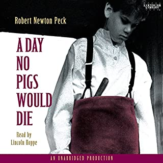 A Day No Pigs Would Die audiobook cover art