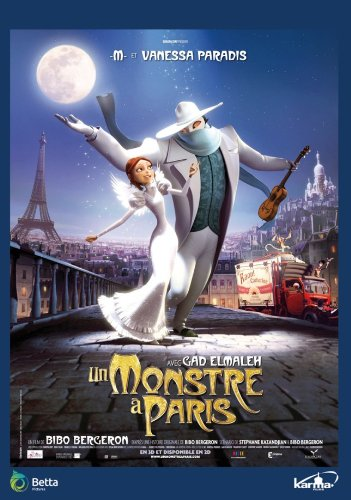 Un monstruo en París [DVD]