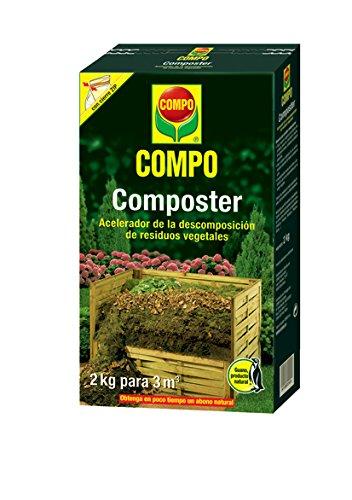 Compo Acelerador de descomposición de residuos Vegetales, 3 m², 2 kg.