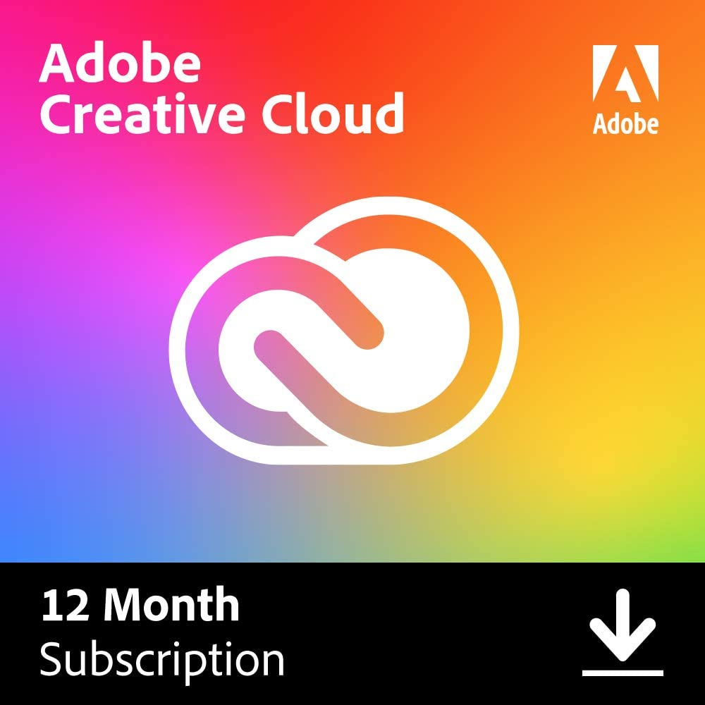 Adobe Creative Cloud All Apps  4 Year  PC/Mac  Download