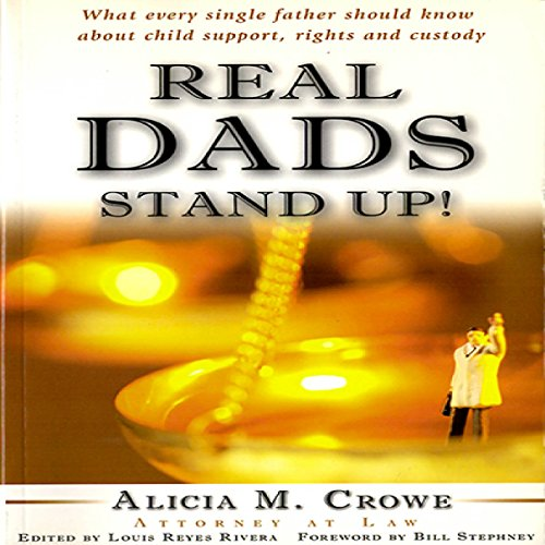 Real Dads Stand Up! audiobook cover art