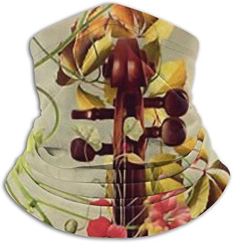 NA Elegant viool nek warm scarf gaiter gezichtsmasker bandana's voor stof, koud weer, winter outdoor, festivals sports voor mannen en vrouwen