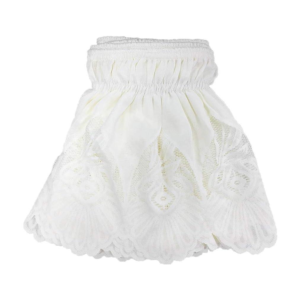 地下憎しみ物思いにふけるB Blesiya ベッドスカート 高質感 通気性 ヴィンテージ風 レースフリル 弾性バンドベッドスカート 四季適用 パターンとサイズが選べる 全2色 - ベージュ1, 135x200cm