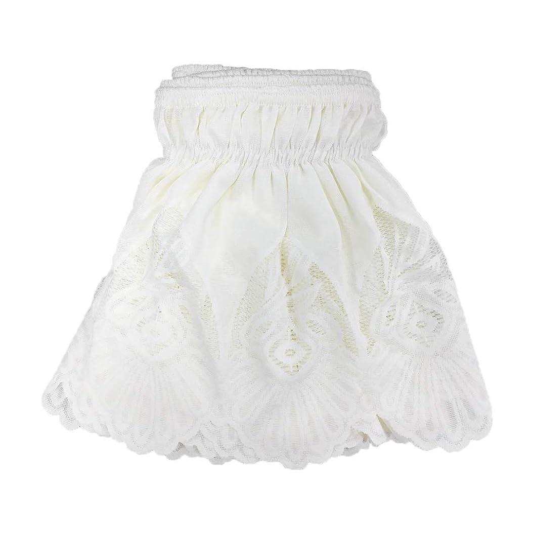 文献暖かく帝国B Blesiya ベッドスカート 高質感 通気性 ヴィンテージ風 レースフリル 弾性バンドベッドスカート 四季適用 パターンとサイズが選べる 全2色 - ベージュ1, 135x200cm