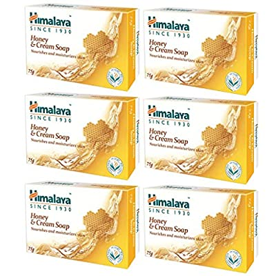 Himalaya soap bars variation (Honey, 6 PACK) by The Himalaya Drug Company