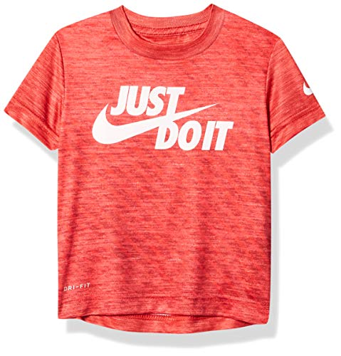 Nike Kids Baby Boy's Dri-FIT Just Do It Graphic T-Shirt (Toddler) University Red 2T Toddler