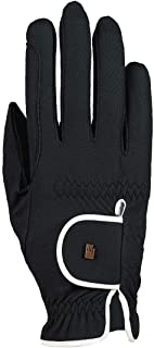 Roeckl - ladies contrast riding gloves LONA